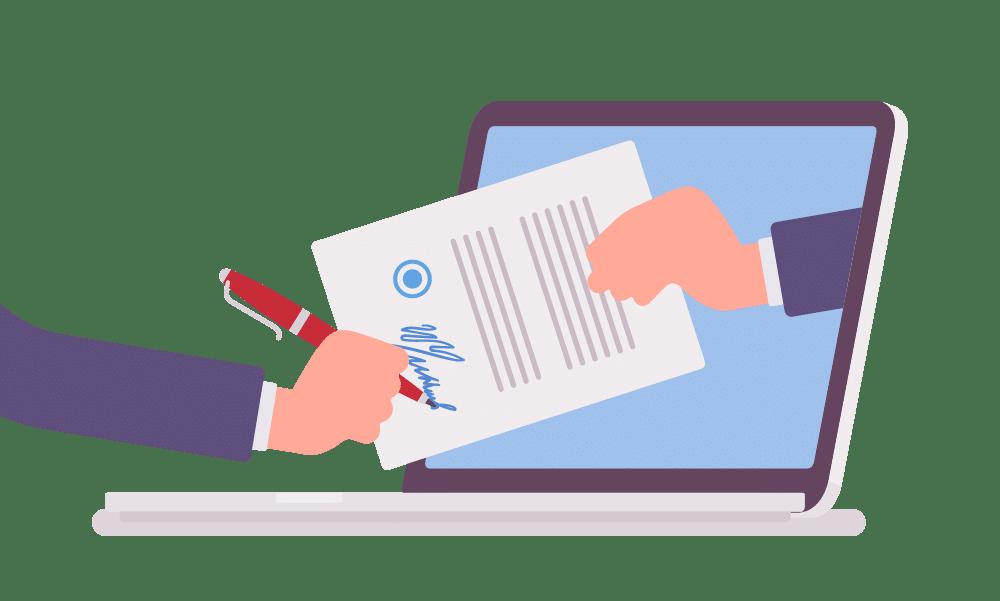signature électronique archivage coffre-fort en ligne